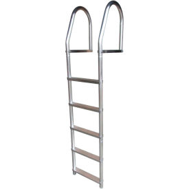 dock edge dock ladder 5 step fixed eco weld free, aluminum - 2075-f Dock Edge Dock Ladder 5 Step Fixed ECO Weld Free, Aluminum - 2075-F