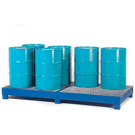 K17-3105 Denios K17-3105 8 Drum Steel Spill Pallet - Painted Steel