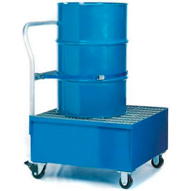 K17-3106 Denios K17-3106 1 Drum Spill Containment Cart - 66 Gallon Capacity