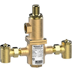 lawler series 66-80 thermostatic mixing valve, 80 gpm Lawler Series 66-80 Thermostatic Mixing Valve, 80 GPM