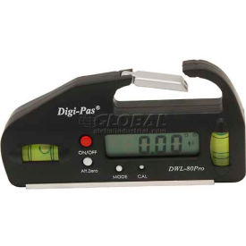 digi-pas® dwl-80pro professional pocket-sized digital level Digi-Pas® DWL-80Pro Professional Pocket-Sized Digital Level