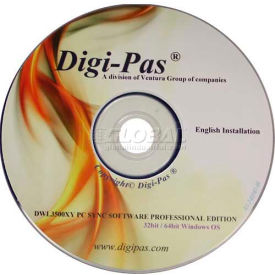 pc sync professional software for digi-pas® dwl3500xy level