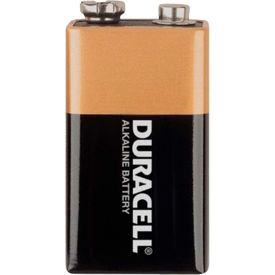 MN1604BKD Duracell; Coppertop;  9V Batteries W/ Duralock Power Preserve;