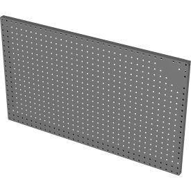 "durham wall mountable pegboard panel with (10) 8"" pegboard hooks, 34-3/4""w x 1""d x 20-3/4""h - gray Durham Wall Mountable Pegboard Panel With (10) 8"" Pegboard Hooks, 34-3/4""W x 1""D x 20-3/4""H - Gray"