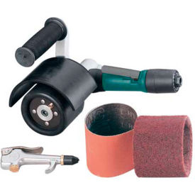 13310 Dynabrade 13310 Mini-Dynisher Finishing Tool Versatility Kit, .4HP, 3,200 RPM, Rear Exhaust