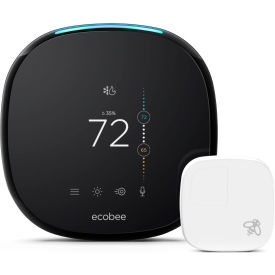 EB-STATE4-01 Ecobee4 Pro Smart WiFi Thermostat with Remote Sensor EB-STATE4-01 and Built in Alexa Voice Service