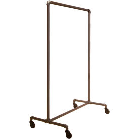 "PSBB Econoco, Non-Adjustable Ballet Rack, PSBB, 41""W x 64H x 22""D, Anthracite Grey"