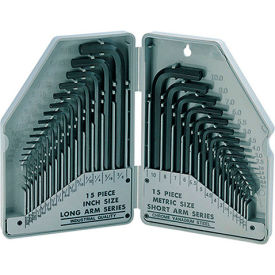 900-038 Eclipse 900-038 - Hex Key Set - US and Metric