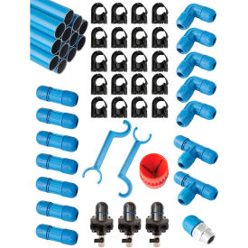 "fastpipe rapidair f28090, 1"" master kit 90 ft. 3 outlets Fastpipe Rapidair F28090, 1"" Master Kit 90 ft. 3 Outlets"