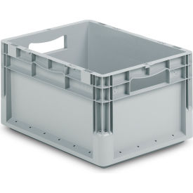 "ELB4220.GY1 Schaefer Straight Wall Stacking Container ELB4220.GY1 - 15-11/16""L x 11-1/2""W x 8-11/16""H"