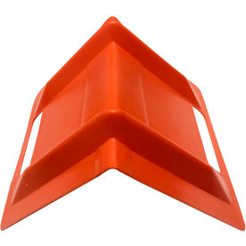 "encore plastic edge protector ep-5680 - 8""l x 10""w x 8""h - orange Encore Plastic Edge Protector EP-5680 - 8""L x 10""W x 8""H - Orange"