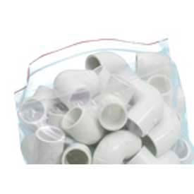 stout seal closure bags, 4 x 4, clear, 2.00 mil, 1000/case - zf-001