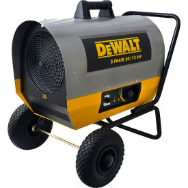 DXH2000TS DeWALT; Portable Forced Air Electric Heater DXH2000TS, 20,000 Watt, 240V