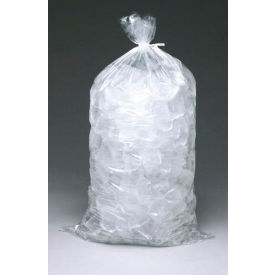 9F1836 Caterer Ice Bag (40 Lbs) Plain, No Print 36 x 18 2.75 Mil - 250 Bags/CASE