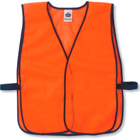 20010 Ergodyne; GloWear; 8010HL Non-Certified Economy Vest, Orange, One Size