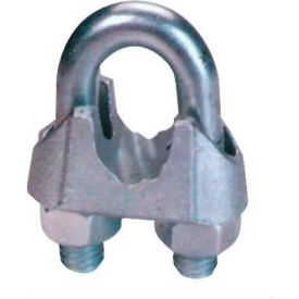 "DFC14 Elite Sales DFC14 1/4"" Drop Forged Wire Rope Clip - Pack of 50"
