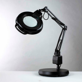 "7126 Electrix 7126 5-Diopter Lens Fluorescent Magnifier W/Weighted Base, 30"" Reach, 120V, 22W"
