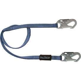 8204 FallTech; 8204 4 Restraint Lanyard, Single Leg, with 2 Snap Hooks