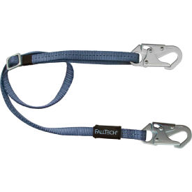 8209 FallTech; 8209 4 to 6 Restraint Lanyard, Adjustable Single Leg, with 2 Snap Hooks