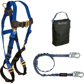 9005PS FallTech; 9005PS Starter Kit with 7015 Harness, 6 Shock Absorbing Lanyard & Gear Bag