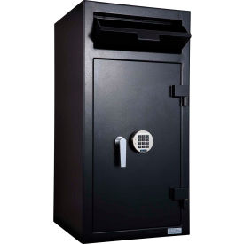 Protex Extra Large Depository Safe with Locking Compartment & Electronic Lock FD-4020K 20x20x 40