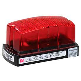 LP1-120R Federal Signal LP1-120R Strobe, 120VAC, Red