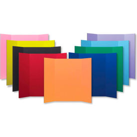 "flipside products 1 ply color project board, 48""w x 36""h, 24/pk"