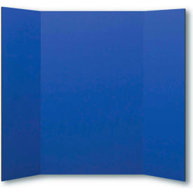 "flipside products 1 ply blue project board, 48""w x 36""h, 24/pk"