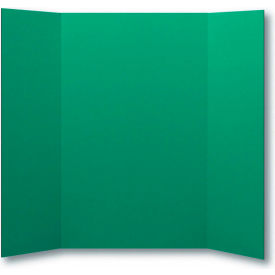 "flipside products 1 ply green project board, 48""w x 36""h, 24/pk"