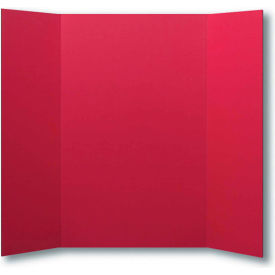 "flipside products 1 ply red project board, 48""w x 36""h, 24/pk"