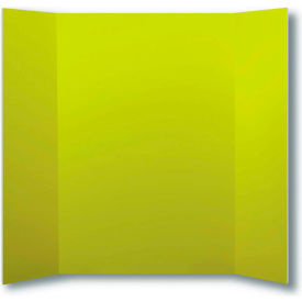 "flipside products 1 ply yellow project board, 48""w x 36""h, 24/pk"