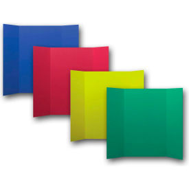 "flipside products 1 ply primary color project board, 48""w x 36""h, 24/pk"
