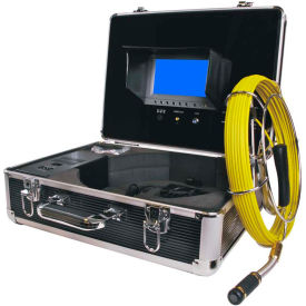 FB-PIC3188D-130 FORBEST FB-PIC3188D-130 Portable Color Sewer/Drain Camera, 130 Cable W/ Aluminum Case