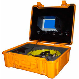 FB-PIC3188DN-130 FORBEST FB-PIC3188DN-130 Portable Color Sewer/Drain Camera, 130 Cable W/ Heavy Duty Waterproof Case
