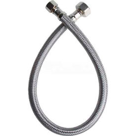 B1F20 Fluidmaster B1F20 Faucet Supply 3/8 In. Compression X 1/2 In. Compression X 20 In. - Braided SS