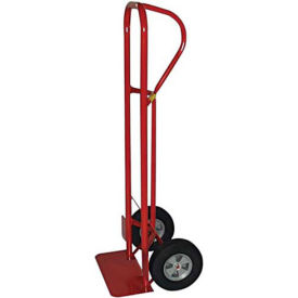 milwaukee heavy duty hand truck 44701 - p-handle - solid rubber wheels - 1000 lb. capacity - red Milwaukee Heavy Duty Hand Truck 44701 - P-Handle - Solid Rubber Wheels - 1000 Lb. Capacity - Red
