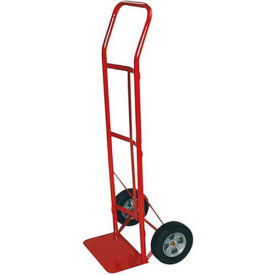 milwaukee hand truck 47109 - flow back handle - solid rubber wheels - 600 lb. capacity - red Milwaukee Hand Truck 47109 - Flow Back Handle - Solid Rubber Wheels - 600 Lb. Capacity - Red