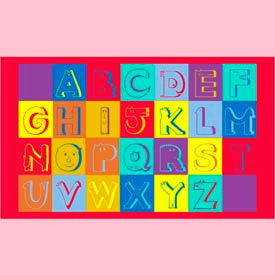 "alphabet faces mat - 36"" x 60"" Alphabet Faces Mat - 36"" x 60"""