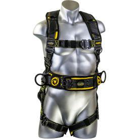guardian cyclone construction harness, quick connect chest & legs, tongue buckle waist, s Guardian Cyclone Construction Harness, Quick Connect Chest & Legs, Tongue Buckle Waist, S