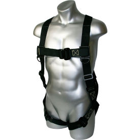 guardian kevlar harness, pass-through leg & chest connections, back d-ring, xl, 130-352 lbs capacity Guardian Kevlar Harness, Pass-Through Leg & Chest Connections, Back D-Ring, XL, 130-352 lbs Capacity