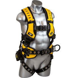 guardian 493061, halo construction harness with trauma strap, pass thru chest connection, m-l Guardian 493061, Halo Construction Harness With Trauma Strap, Pass Thru Chest Connection, M-L