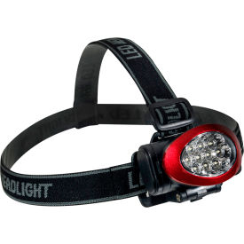 GG-113-10HLRD GoGreen Power, 10 LED Headlamp, GG-113-10HLRD, Red