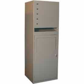 "george oday 2 door multi line dispenser, 24-5/16""wx21-1/4""dx69""h, silver vein, assembled George ODay 2 Door Multi Line Dispenser, 24-5/16""Wx21-1/4""Dx69""H, Silver Vein, Assembled"