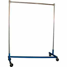 george oday z-rack garment storage rack z7260-1 - 1 crossbar 75 x 23 x 66 George ODay Z-Rack Garment Storage Rack Z7260-1 - 1 Crossbar 75 x 23 x 66