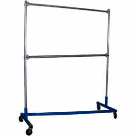 george oday z-rack garment storage rack z7272-2 - 2 crossbars 75 x 23 x 78 George ODay Z-Rack Garment Storage Rack Z7272-2 - 2 Crossbars 75 x 23 x 78