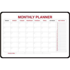"984515 Ghent; Monthly Dry Erase Planner, Non-Magnetic, 24"" x 36"""