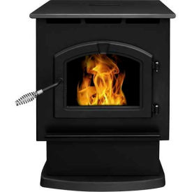 pleasant hearth pellet stove heater large 50,000 btu with 80 pound hopper ph50ps-b Pleasant Hearth Pellet Stove Heater Large 50,000 BTU With 80 Pound Hopper PH50PS-B