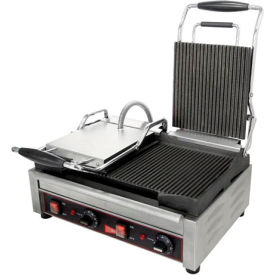 panini / sandwich grill, double grooved surface, 240v Panini / Sandwich Grill, Double Grooved Surface, 240V