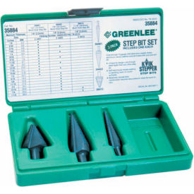 35884 Greenlee; 35884 Bit Kit,Step-#1,#3 & #8.