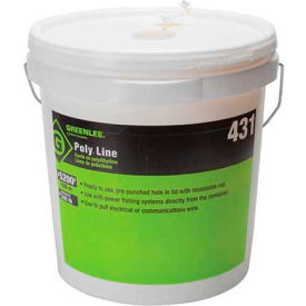 431 Greenlee 431 Poly Line 5200 Ft. Yellow Tracer